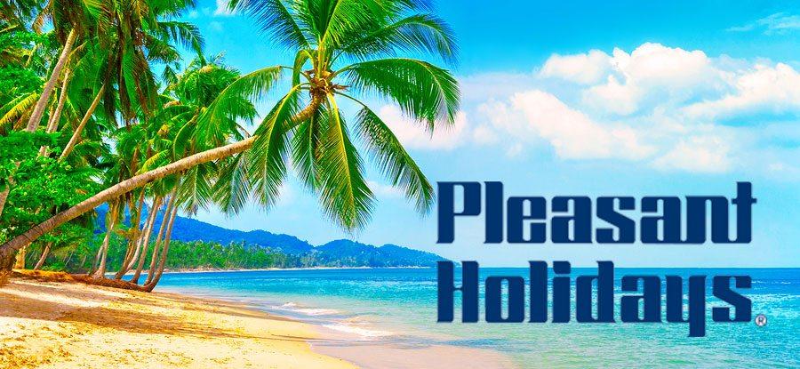 pleasant holidays banner