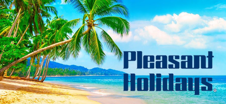 pleasant holidays banner