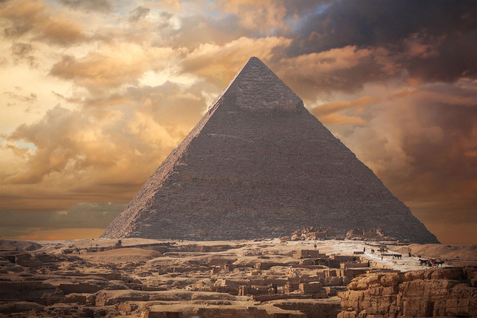 slider pyramid egypt