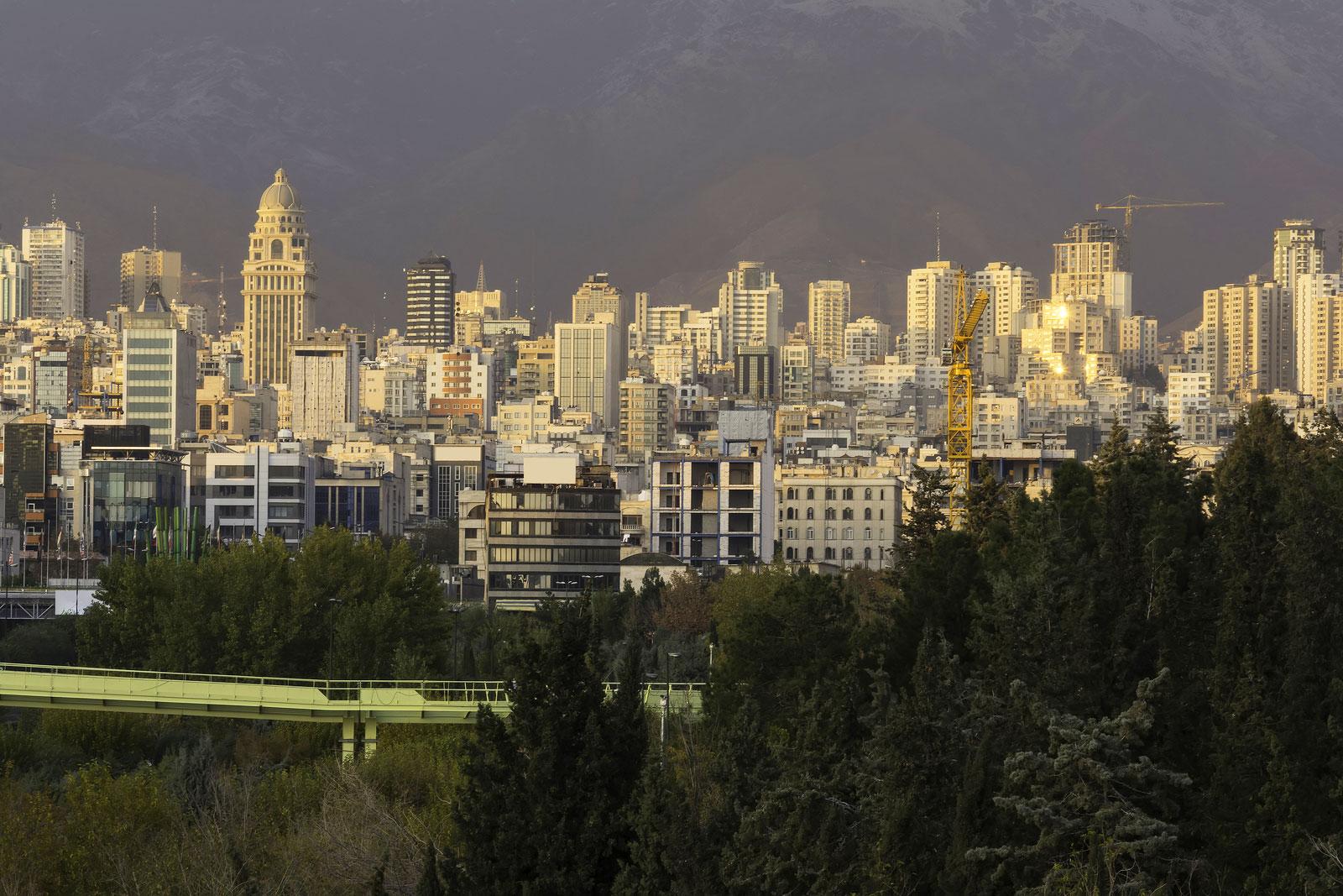tehran city slide