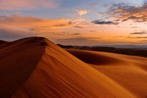 desert sand sunset