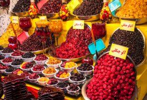 food in bazaar