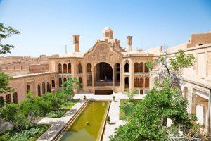 khan e borujerdi historic old housekashan iran
