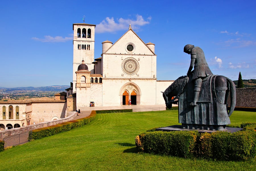 basilica of st francis assisi