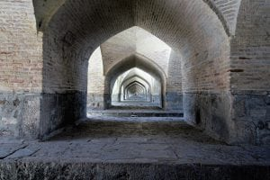 isfahan iran bridge
