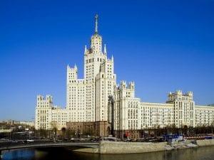 Seven Sisters Skyscraper Moscow Russia